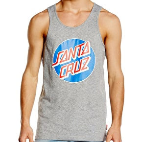 Santa Cruz Classic Dot Vest - Heather Grey