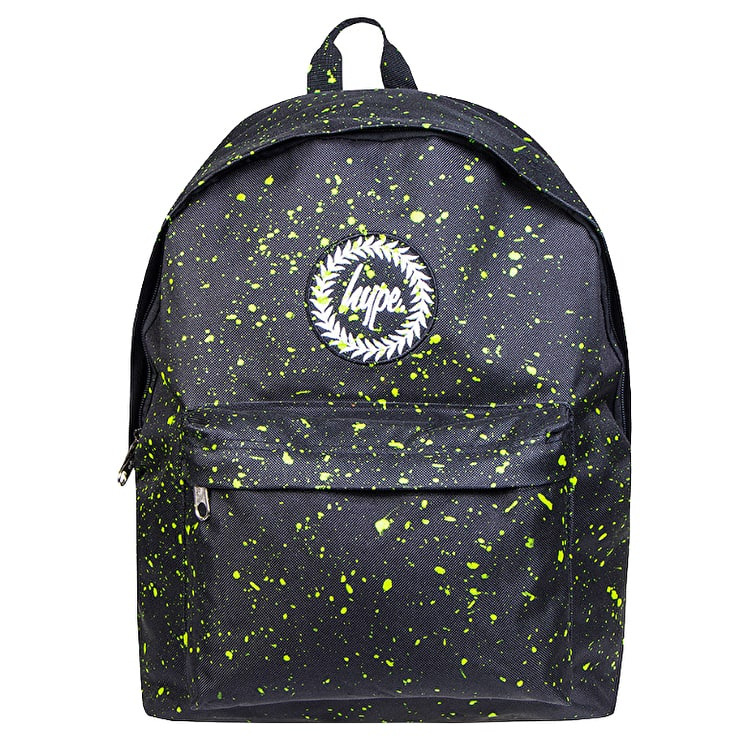 Hype Splat Backpack - Black/Neon Green