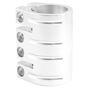 Blazer Pro Quad Bolt Collar Clamp with Shim - Silver