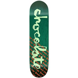 Chocolate The Original Chunk Skateboard Deck - Cruz 8.125