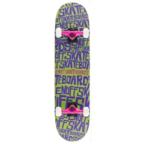 Enuff Scramble Complete Skateboard - Green/Purple