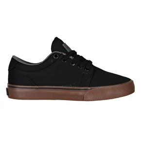 Globe GS Kids Skate Shoes - Black/Tobacco