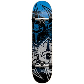 Darkstar Skateboard - Drench Silver/Blue 7.625