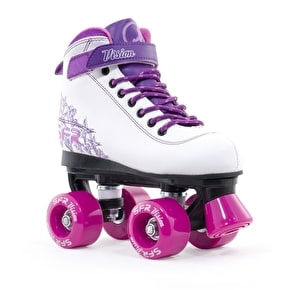 B-Stock SFR Vision II Quad Skates - Pink - UK 3 (Box Damage)