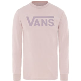 Vans Classic Long Sleeve T Shirt - Violet Ice