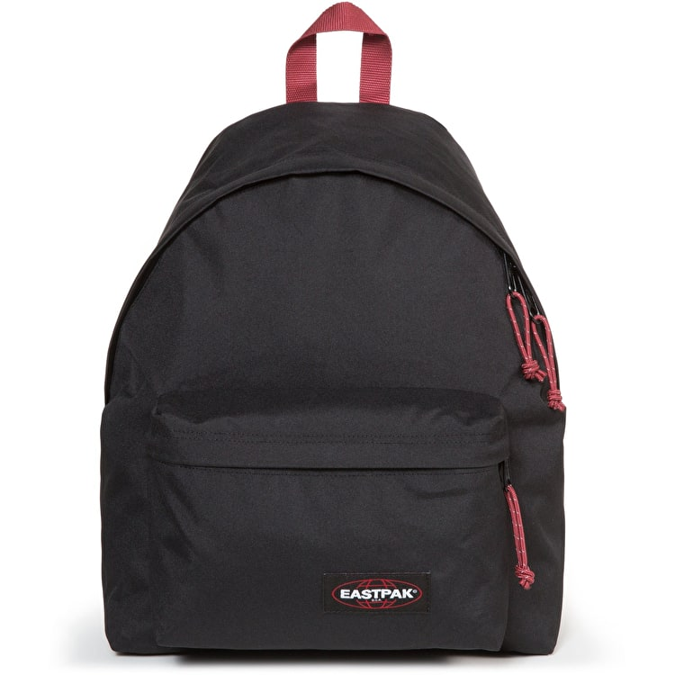 Eastpak Padded Pak'R Backpack - Black/Red