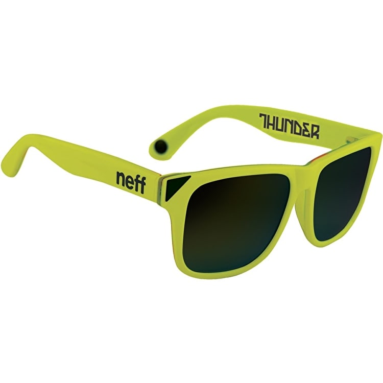 Neff Thunder Sunglasses - Neon Yellow
