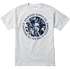 Diamond Simplicity T-Shirt - White