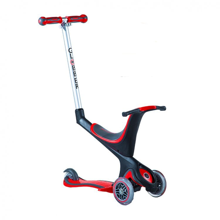 Globber 5-In-1 Scooter - Red