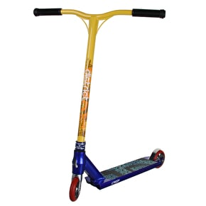 District x Crisp Custom Scooter - Cheapshots Blue/Yellow/Red