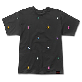 Grizzly Adventure Time Life Burrito T-Shirt - Black
