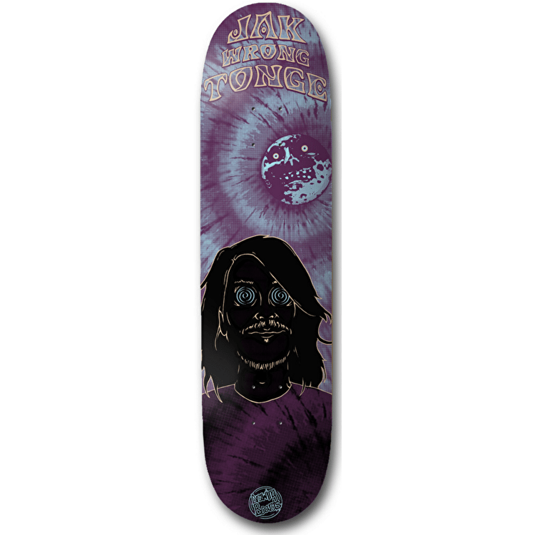 Drawing Boards Wrong Skateboard Deck - Tonge 8.25""