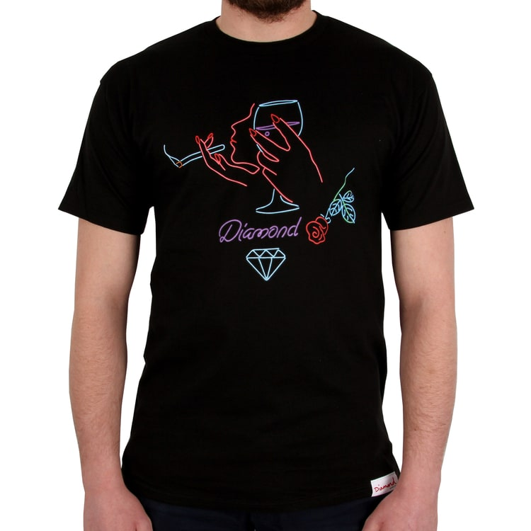 Diamond Supply Co Vino T shirt - Black