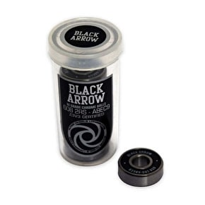 Flying Wheels Black Arrows ABEC 9 Longboard Bearings (Pack of 8)