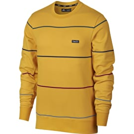 Nike SB Everett Crew Neck - Yellow Ochre/Obsidian