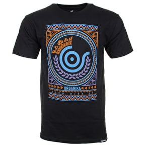 Organika Tribe Icon T-Shirt - Black
