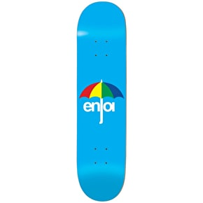 Enjoi Umbrella Skateboard Deck - Blue 8.25