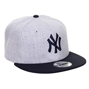 New Era 9FIFTY NY Yankees Heather Mesh Cap - Heather Grey