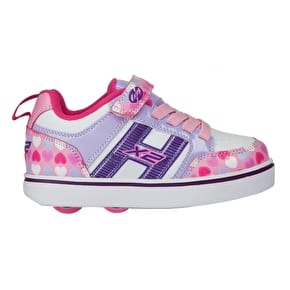 Heelys Bolt Plus Light Up - Light Pink/Lilac/Hearts