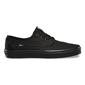 Vans Brigata Shoes - Black/Black