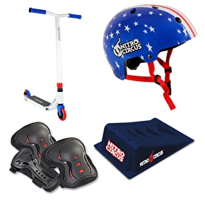 Nitro Circus CX2 Stunt Scooter Deluxe Bundle