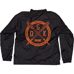 DGK Sandlot Coaches Jacket - Black