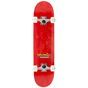 Voltage Graffiti Logo Complete Skateboard - Red