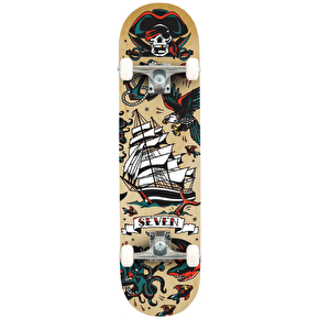 Seven Tattoo Flash Complete Skateboard - 7.8