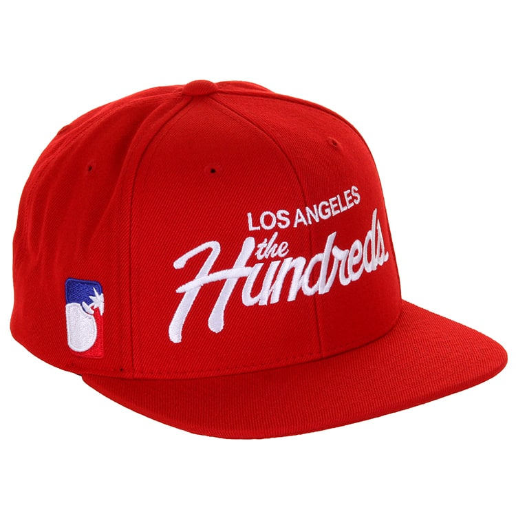 The Hundreds Snapback Caps - Red