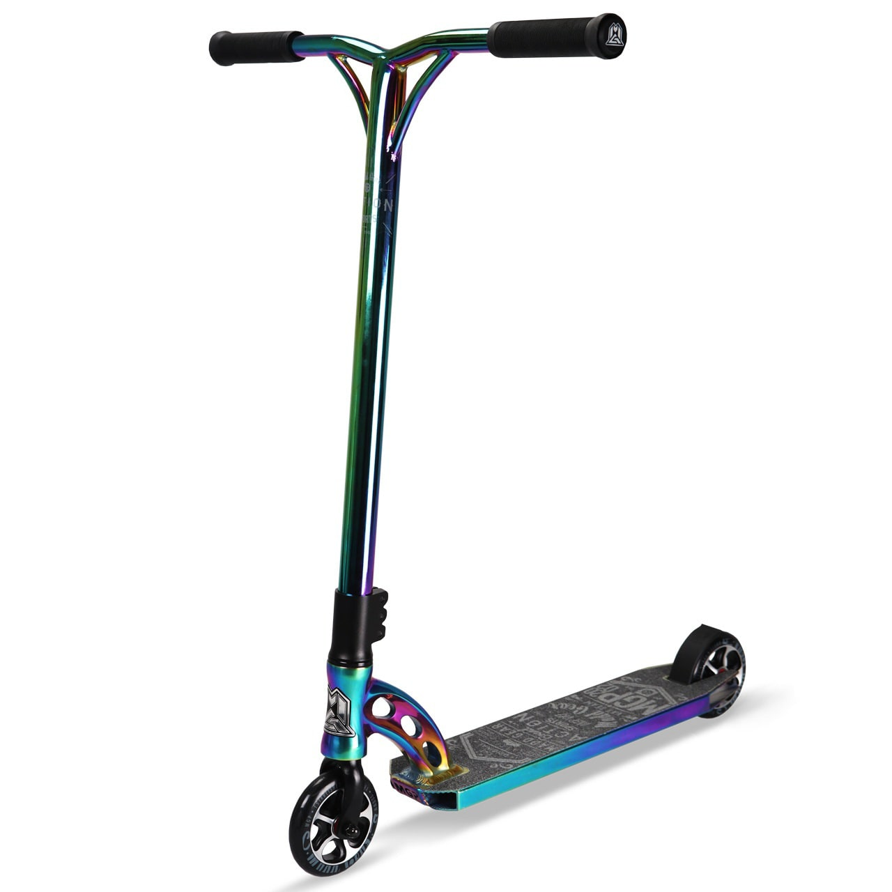 mgp vx7 team le stunt scooter neochrome black neochrome browse all mgp scooters madd. Black Bedroom Furniture Sets. Home Design Ideas
