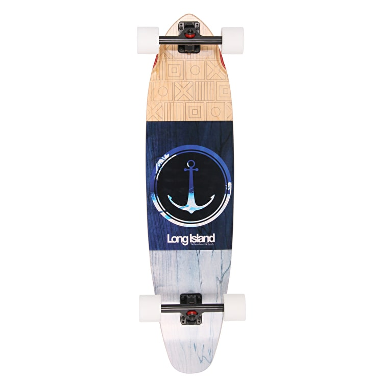 "Long Island Bonny 37.8"" Kicktail Complete Longboard"