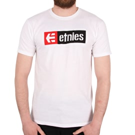 Etnies New Box T-Shirt - White