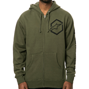 Alpinestars Ajax Zip Fleece - Military Green
