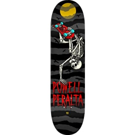 Powell Peralta Handplant Skelly Skateboard Deck - Charcoal 8.0
