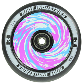Root Industries 120mm Air Scooter Wheel - Black/Tie Dye