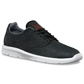 Vans Iso 1.5 Skate Shoes - (Suiting) Black/Blanc De Blanc