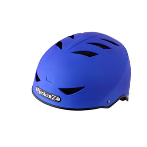 B-Stock HardnutZ Rubber Helmet - Blue - Small (Box Damage)