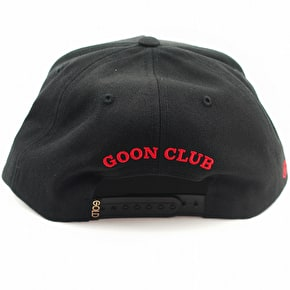 Gold Wheels Goon Club Cap - Black