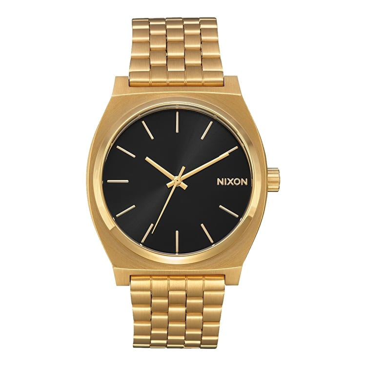 Nixon Time Teller Watch - All Gold / Black Sunray