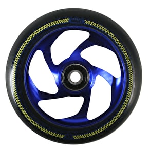 AO Mandala 5 Hole 110mm Scooter Wheel - Blue