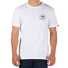 Vans Original Rubber T-Shirt - White/Dress Blues