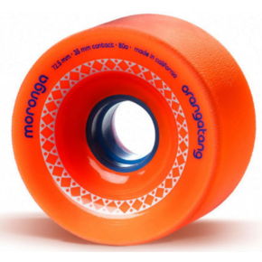 Orangatang Moronga 72.5mm Longboard Wheels - Orange