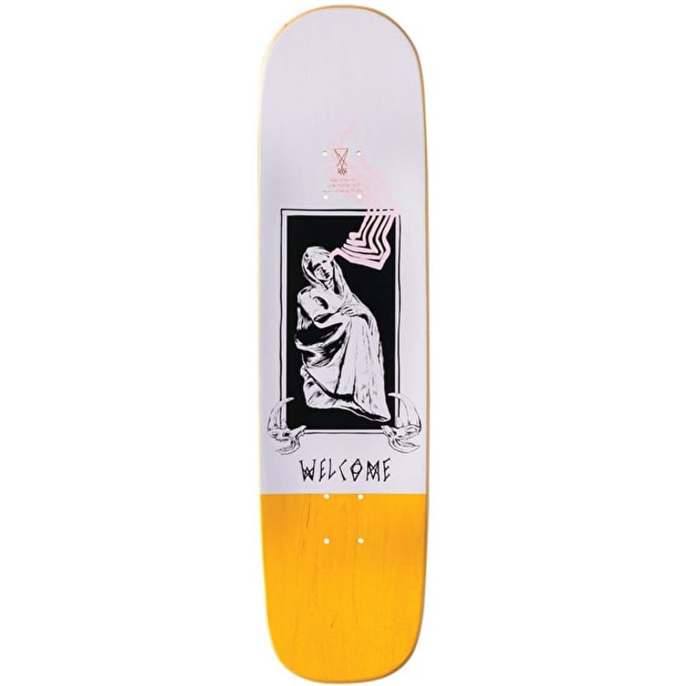 Welcome Effigy On Yung Nibiru Skateboard Deck - 8.25""