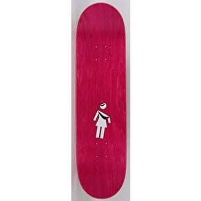 Girl Folded OG McCrank Skateboard Deck - 8.375