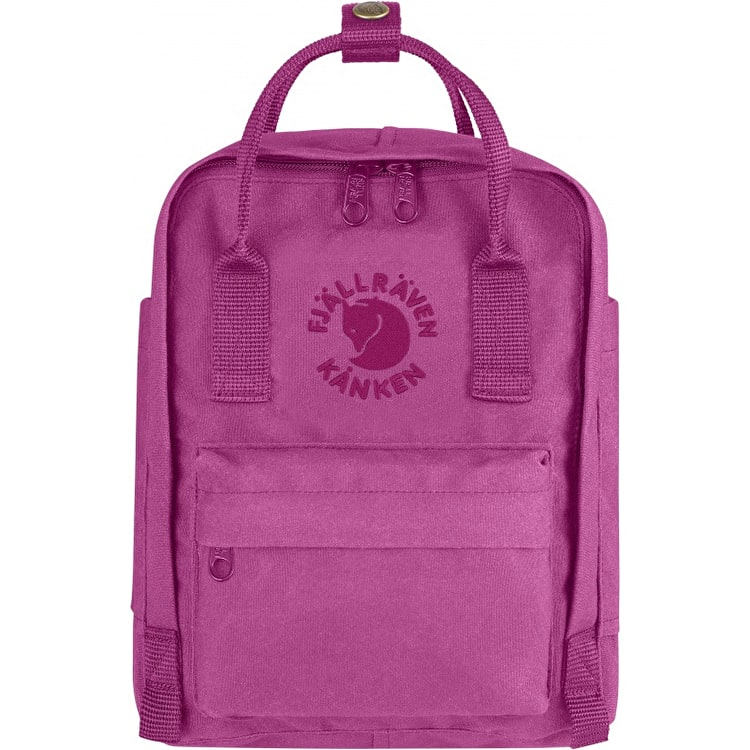 Fjallraven Re-Kanken Mini Backpack - Pink Rose