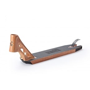 Sacrifice Akashi 115 Street Scooter Deck - Woodgrain