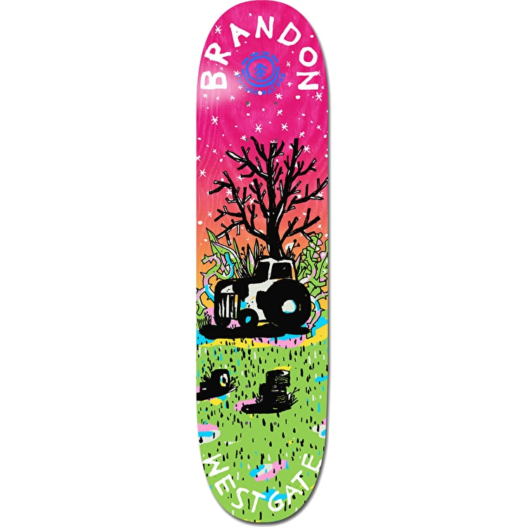 Element Future Nature Skateboard Deck - Westgate 7.75""