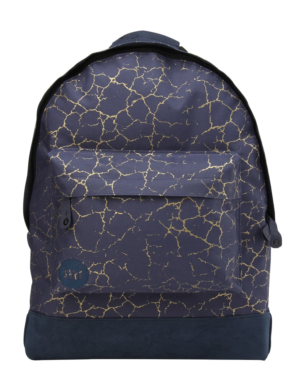MiPac Cracked Backpack  NavyGold