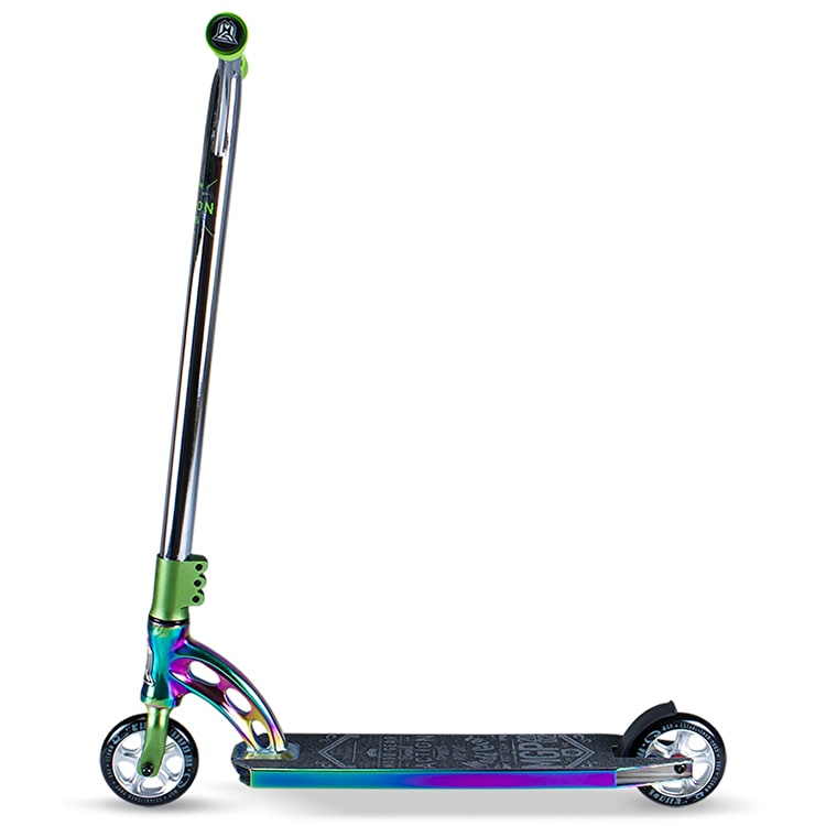 MGP VX7 Team LE Complete Scooter - Neochrome/Lime