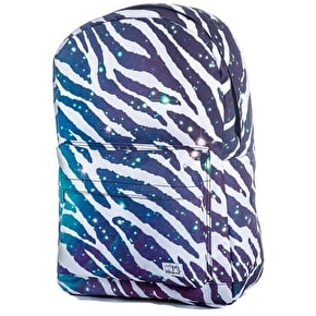 Spiral Backpack - Space Zebra